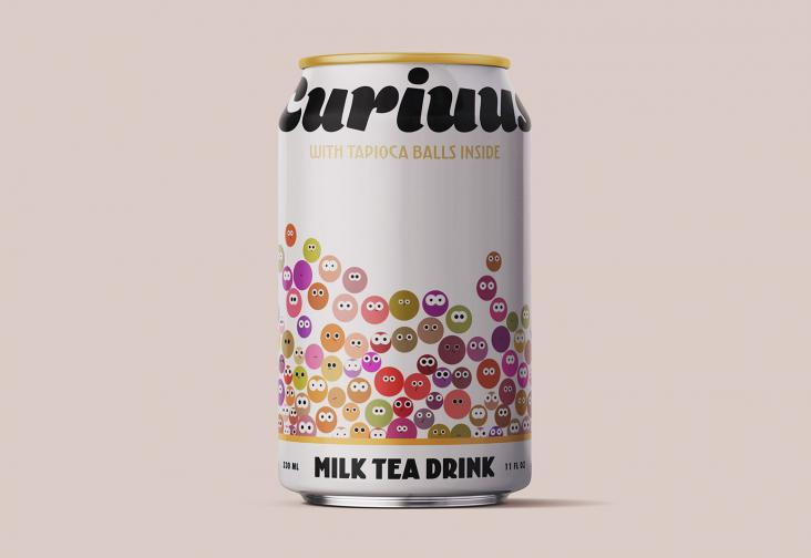 Curiuus milk tea