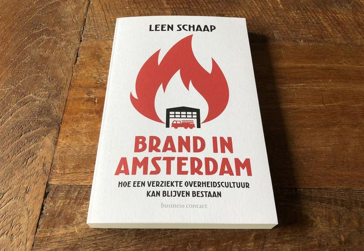 Brand in Amsterdam book